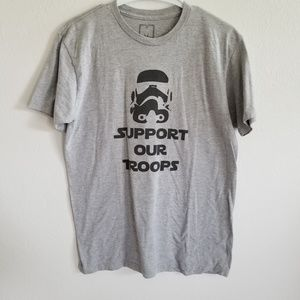 Star Wars 'Support Our Troops' Size Medium